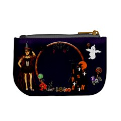 Trick Or Treat Mini Coin Purse By Claire Mcallen   Mini Coin Purse   8sigzphnn3rm   Www Artscow Com Back