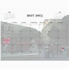 2013 For Grandpa By Elizabeth Marcellin   Wall Calendar 11  X 8 5  (12 Months)   6rd7lc9vxkss   Www Artscow Com May 2013