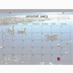 2013 For Grandpa By Elizabeth Marcellin   Wall Calendar 11  X 8 5  (12 Months)   6rd7lc9vxkss   Www Artscow Com Aug 2013