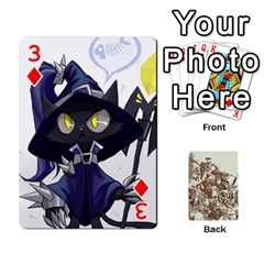 League Cards :d By Keane   Playing Cards 54 Designs (rectangle)   W07dphokiou1   Www Artscow Com Front - Diamond3