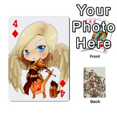 League Cards :d By Keane   Playing Cards 54 Designs (rectangle)   W07dphokiou1   Www Artscow Com Front - Diamond4