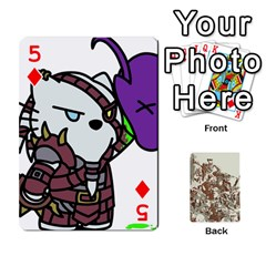 League Cards :d By Keane   Playing Cards 54 Designs (rectangle)   W07dphokiou1   Www Artscow Com Front - Diamond5