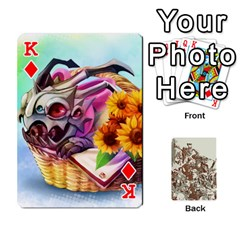 King League Cards :d By Keane   Playing Cards 54 Designs (rectangle)   W07dphokiou1   Www Artscow Com Front - DiamondK