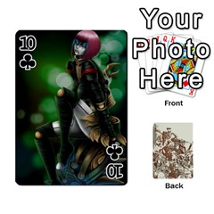 League Cards :d By Keane   Playing Cards 54 Designs (rectangle)   W07dphokiou1   Www Artscow Com Front - Club10
