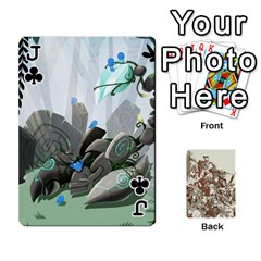 Jack League Cards :d By Keane   Playing Cards 54 Designs (rectangle)   W07dphokiou1   Www Artscow Com Front - ClubJ