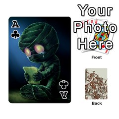 Ace League Cards :d By Keane   Playing Cards 54 Designs (rectangle)   W07dphokiou1   Www Artscow Com Front - ClubA