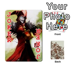 League Cards :d By Keane   Playing Cards 54 Designs (rectangle)   W07dphokiou1   Www Artscow Com Front - Joker2