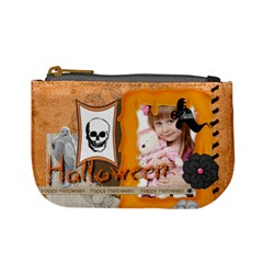 Halloween By Jo Jo   Mini Coin Purse   V4r80ww7ntxz   Www Artscow Com Front