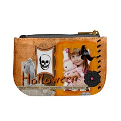 Halloween By Jo Jo   Mini Coin Purse   V4r80ww7ntxz   Www Artscow Com Back