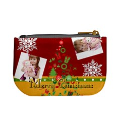 Xmas By Jo Jo   Mini Coin Purse   M4n9h5yp6060   Www Artscow Com Back