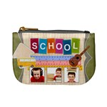 school - Mini Coin Purse