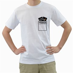 Camiseta   Descartes By Matematicaula   Men s T Shirt (white) (two Sided)   Whxntr47s4qf   Www Artscow Com Front