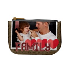 Family By Jo Jo   Mini Coin Purse   Ypybev0f1soi   Www Artscow Com Front
