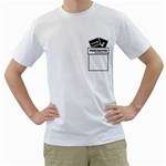 Shirt - Descartes - Men s T-Shirt (White) (Two Sided)