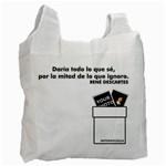 Bolsa - Descartes - Recycle Bag (One Side)