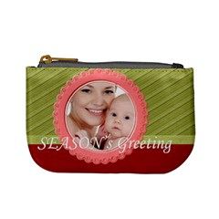Xmas By M Jan   Mini Coin Purse   Orwz2r68bhco   Www Artscow Com Front