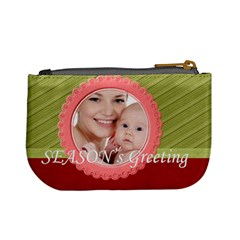 Xmas By M Jan   Mini Coin Purse   Orwz2r68bhco   Www Artscow Com Back