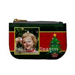 Xmas By M Jan   Mini Coin Purse   Y1itx5bpv2tf   Www Artscow Com Front