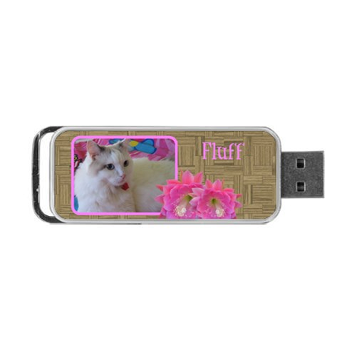 Elegant Portable Usb Flash By Deborah   Portable Usb Flash (one Side)   0cfvpuvrrxjp   Www Artscow Com Front