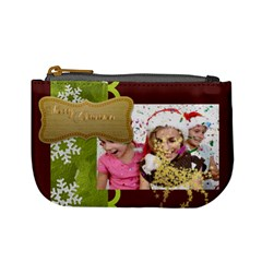 Xmas By M Jan   Mini Coin Purse   X576tjzbxd4k   Www Artscow Com Front