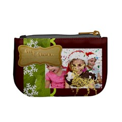 Xmas By M Jan   Mini Coin Purse   X576tjzbxd4k   Www Artscow Com Back