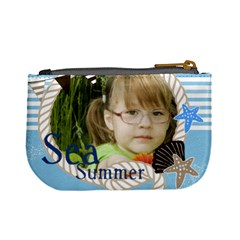 Sea Summer By Mac Book   Mini Coin Purse   K8adw4366ftx   Www Artscow Com Back