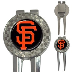 Sf Giants Logo Golf Pitchfork & Ball Marker