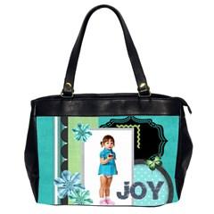 Xmas By Jo Jo   Oversize Office Handbag (2 Sides)   0o18qefxvyie   Www Artscow Com Front