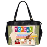school - Oversize Office Handbag (2 Sides)