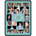 Grandchildren 5 - Fleece Blanket (Large)