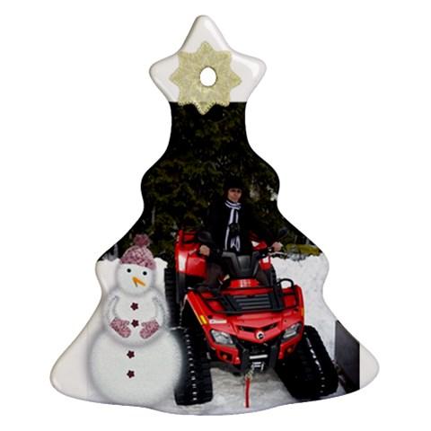 Mimi By Maria Georgieva   Ornament (christmas Tree)    6fzlupeehea5   Www Artscow Com Front