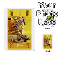 Colorful Lookout Money By Geni Palladin   Multi Purpose Cards (rectangle)   0oy45jimocv8   Www Artscow Com Front 35