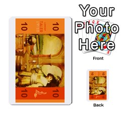 Colorful Lookout Money By Geni Palladin   Multi Purpose Cards (rectangle)   0oy45jimocv8   Www Artscow Com Front 40
