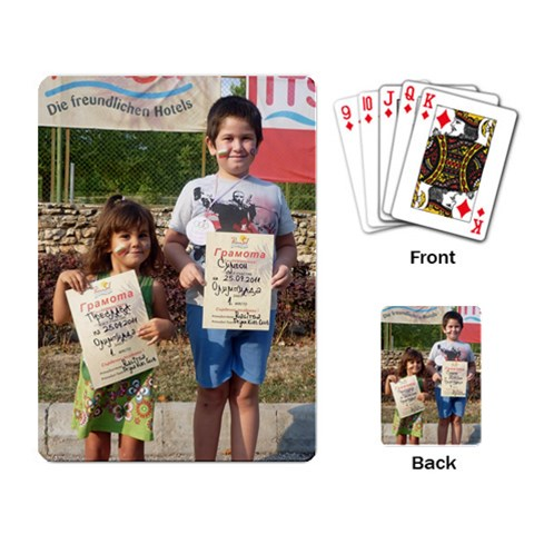 Moncho By Maria Georgieva   Playing Cards Single Design   W2uos3dh78l4   Www Artscow Com Back