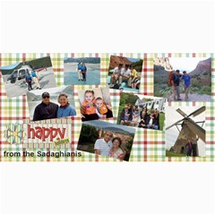 Probable Christmas Card By Hassan Sadaghiani   4  X 8  Photo Cards   Layiqv1pn0jy   Www Artscow Com 8 x4 Photo Card - 6
