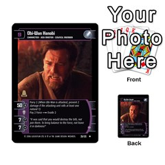 Star Wars Tcg Ii By Jaume Salva I Lara   Multi Purpose Cards (rectangle)   78rjzmm60ppz   Www Artscow Com Front 1