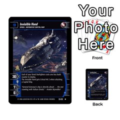 Star Wars Tcg Ii By Jaume Salva I Lara   Multi Purpose Cards (rectangle)   78rjzmm60ppz   Www Artscow Com Front 6