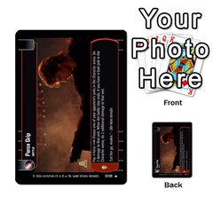 Star Wars Tcg Ii By Jaume Salva I Lara   Multi Purpose Cards (rectangle)   78rjzmm60ppz   Www Artscow Com Front 53
