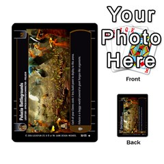 Star Wars Tcg Ii By Jaume Salva I Lara   Multi Purpose Cards (rectangle)   78rjzmm60ppz   Www Artscow Com Front 54