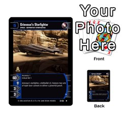 Star Wars Tcg Ii By Jaume Salva I Lara   Multi Purpose Cards (rectangle)   78rjzmm60ppz   Www Artscow Com Front 8