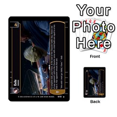 Star Wars Tcg Ii By Jaume Salva I Lara   Multi Purpose Cards (rectangle)   78rjzmm60ppz   Www Artscow Com Front 12