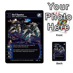 Star Wars Tcg Ii By Jaume Salva I Lara   Multi Purpose Cards (rectangle)   78rjzmm60ppz   Www Artscow Com Front 13