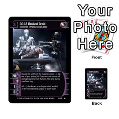 Star Wars Tcg Ii By Jaume Salva I Lara   Multi Purpose Cards (rectangle)   78rjzmm60ppz   Www Artscow Com Front 15