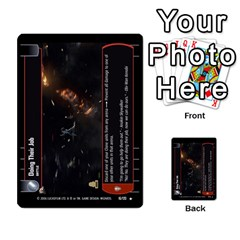 Star Wars Tcg Ii By Jaume Salva I Lara   Multi Purpose Cards (rectangle)   78rjzmm60ppz   Www Artscow Com Front 16