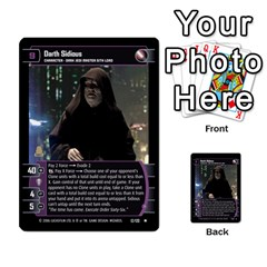 Star Wars Tcg Ii By Jaume Salva I Lara   Multi Purpose Cards (rectangle)   78rjzmm60ppz   Www Artscow Com Front 17