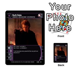 Star Wars Tcg Ii By Jaume Salva I Lara   Multi Purpose Cards (rectangle)   78rjzmm60ppz   Www Artscow Com Front 18
