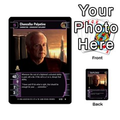Star Wars Tcg Ii By Jaume Salva I Lara   Multi Purpose Cards (rectangle)   78rjzmm60ppz   Www Artscow Com Front 21