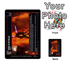 Star Wars Tcg Ii By Jaume Salva I Lara   Multi Purpose Cards (rectangle)   78rjzmm60ppz   Www Artscow Com Front 23