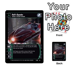 Star Wars Tcg Ii By Jaume Salva I Lara   Multi Purpose Cards (rectangle)   78rjzmm60ppz   Www Artscow Com Front 24