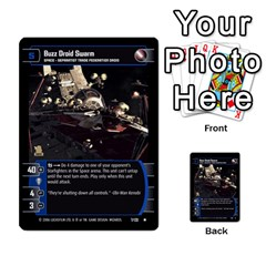Star Wars Tcg Ii By Jaume Salva I Lara   Multi Purpose Cards (rectangle)   78rjzmm60ppz   Www Artscow Com Front 25